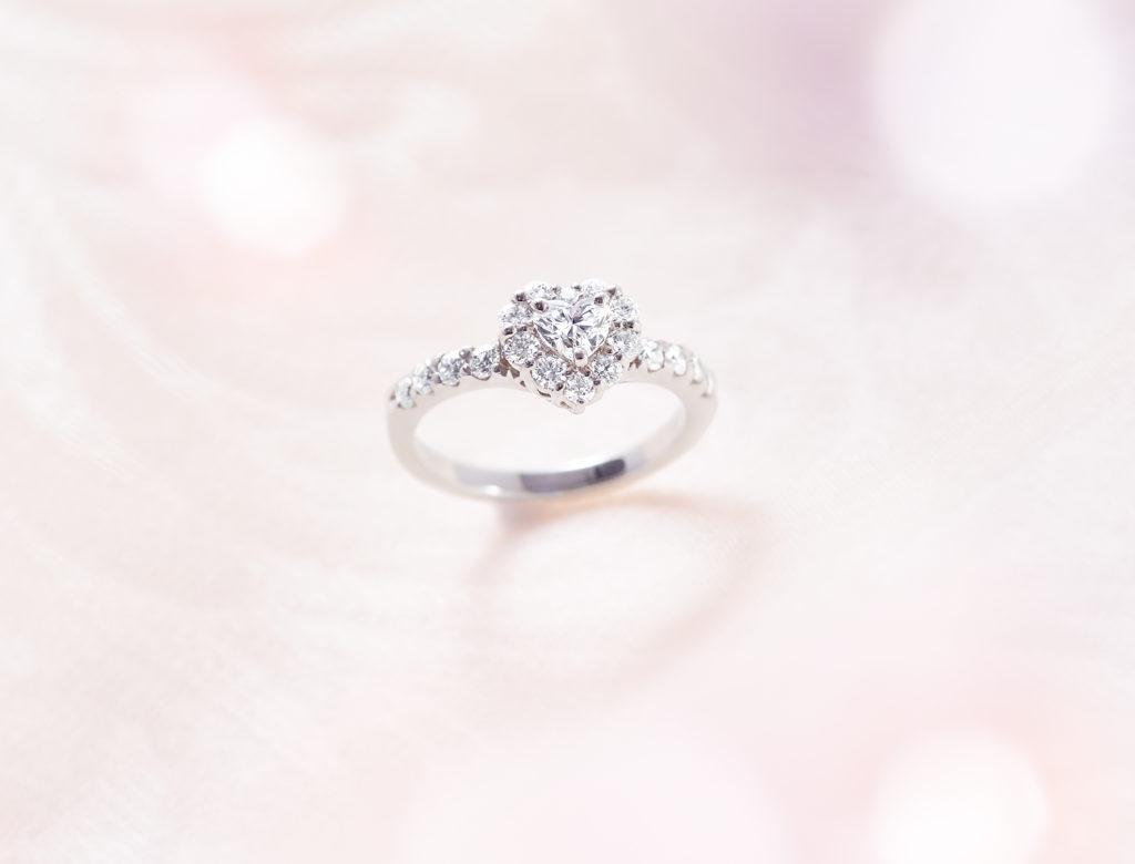 ポンテヴェキオ ハッピーハート 婚約指輪