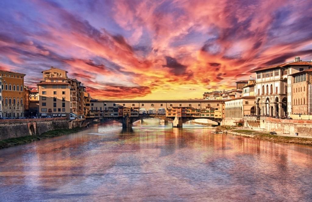 イタリアのポンテヴェキオ橋