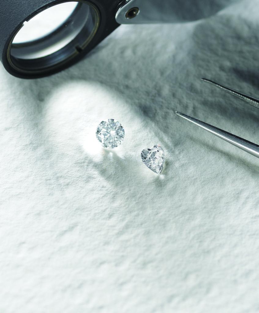 ダイヤモンドのこだわり ハート型ダイヤモンド