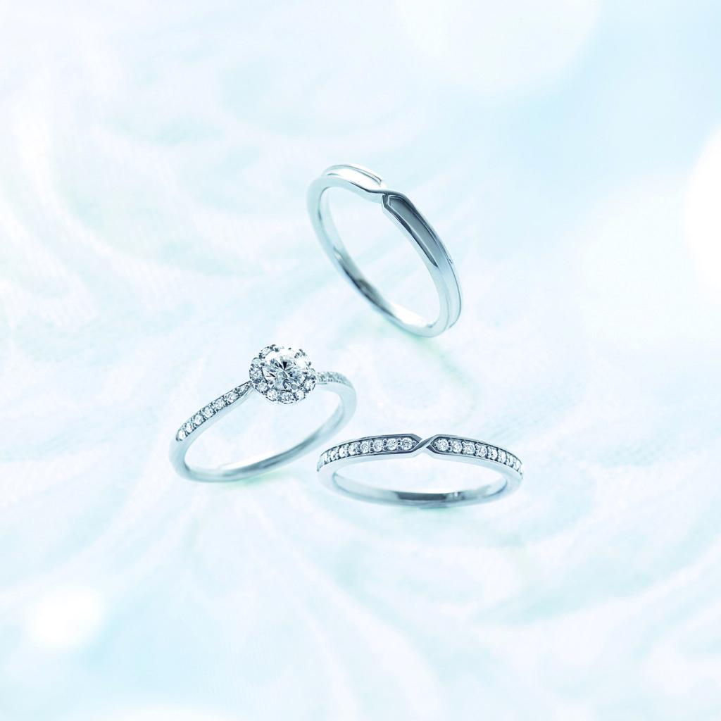 ポンテヴェキオ 結婚指輪 三点セット