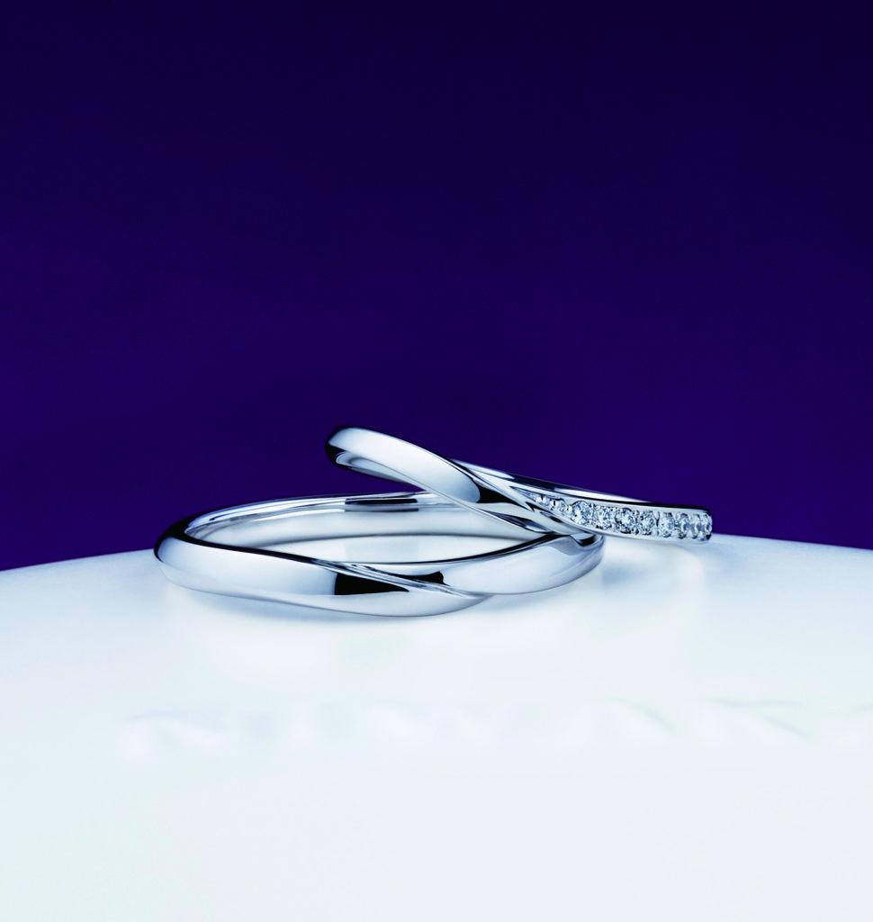 NIWAKA ペア結婚指輪 睡蓮