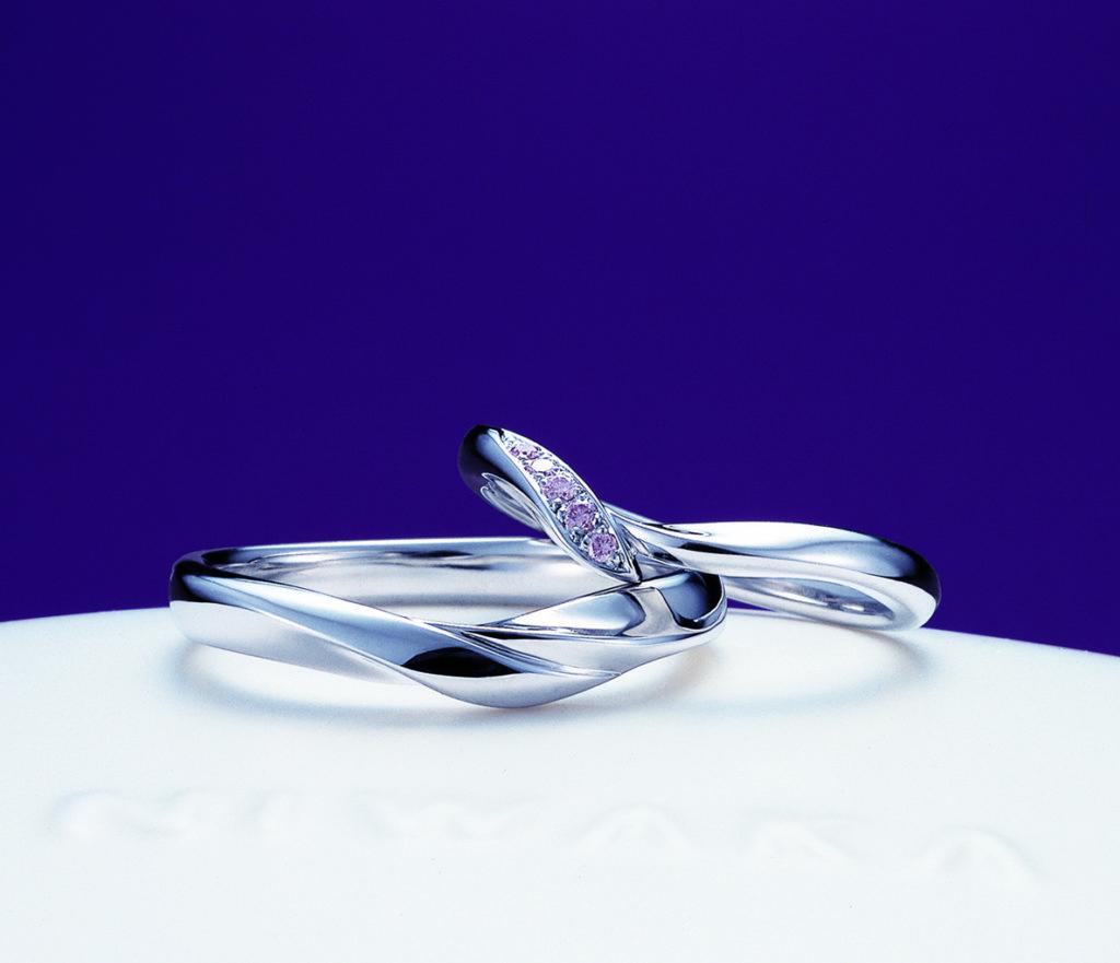 NIWAKA 初桜 ペア結婚指輪