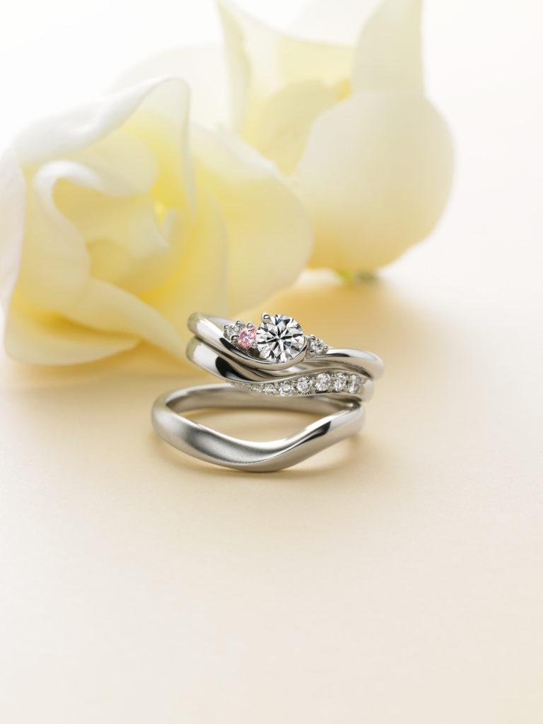 シェリール 結婚指輪3点セット