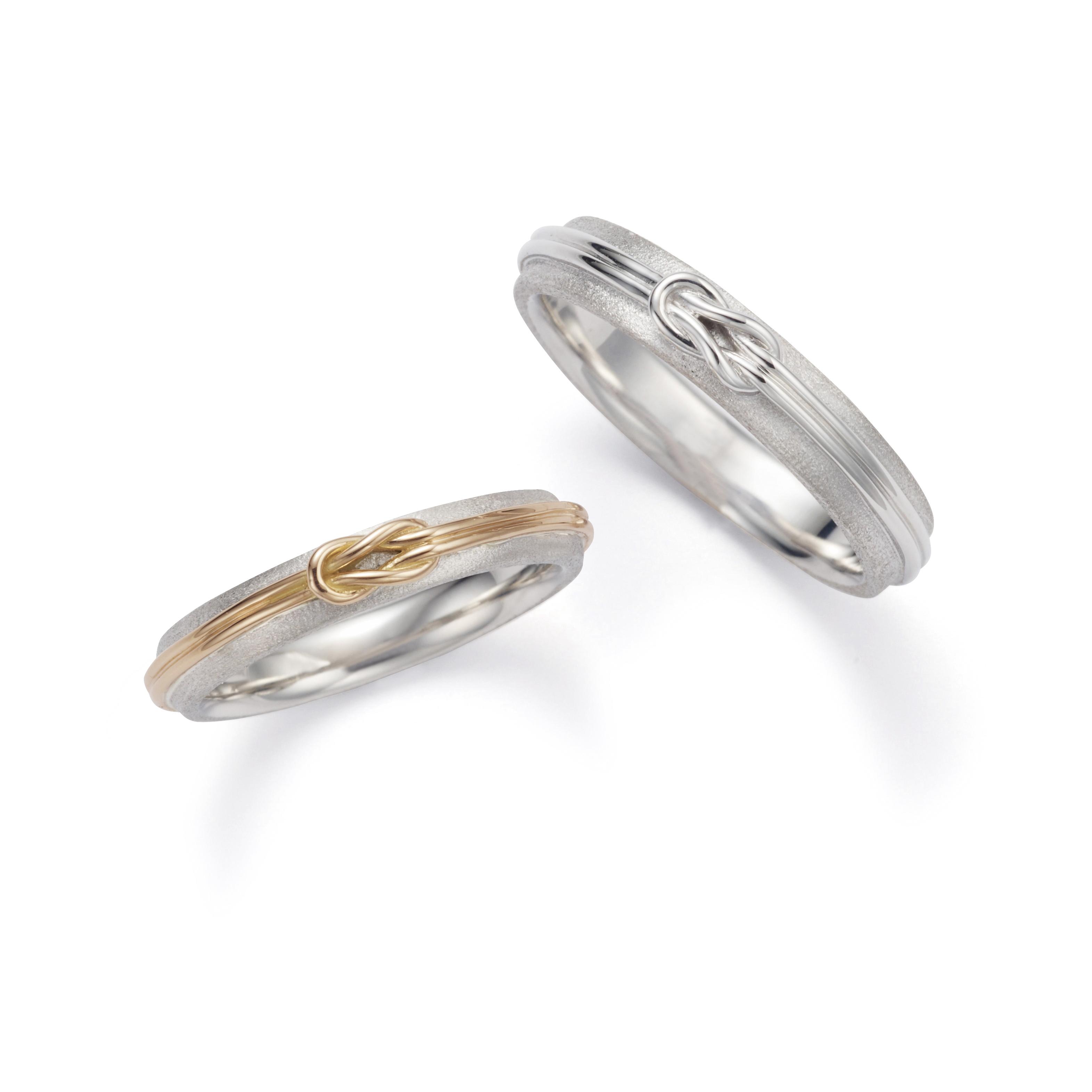 沖縄をイメージした結婚指輪