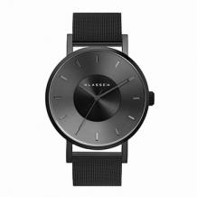 VOLARE Dark Metal with Mesh Band 42mm VO17BK005M
